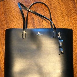 Kate Spade black tote, brand new condition